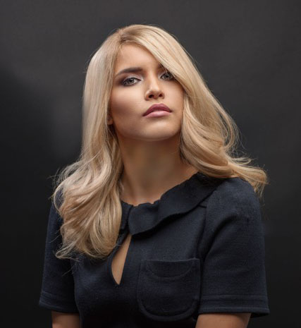 kitui blonde wig example
