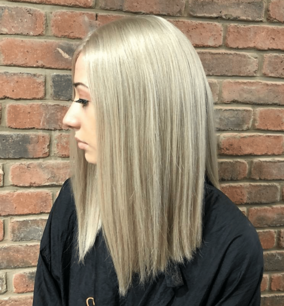 blonde real hair wigs north east styled