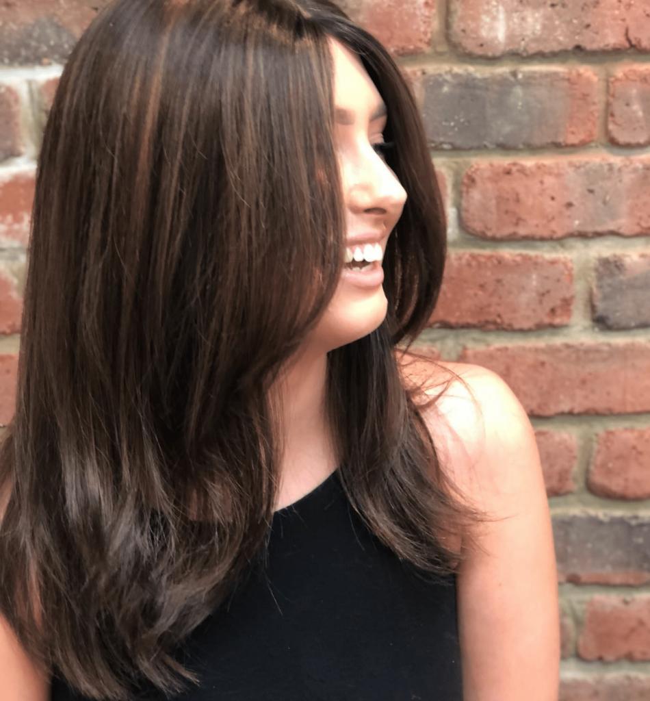brunette wig style ideas